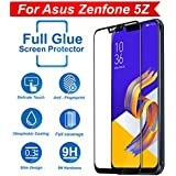Knotyy Edge To Edge 5D Curved Full Tempered Glass Screen Guard For Asus Zenfone 5Z (Black)