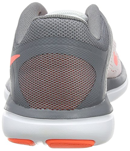 Nike Flex 2016 Run, Scarpe da Corsa Donna Bianco (white/volt Black)
