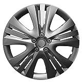 CM DESIGN 14 Zoll Radzierblenden Lexis Graphit (Grau). Radkappen Passend für Fast Alle Opel Wie z.B. Corsa C
