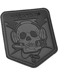 Hazard 4 3D Operator Skull Morale pièce Noir