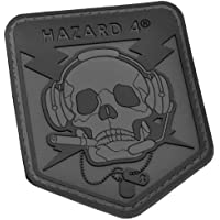 Hazard 4 3D Operator Skull Morale parche Negro