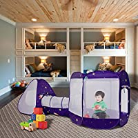 ALPIKA Kids Indoor Outdoor Kids Tent Children Play Tent And Portable Toy Tent For Boys Girls