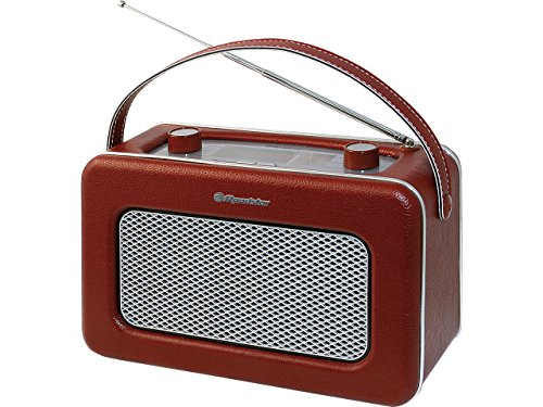 Roadstar TRA-1958/BG - Radio de 1.2 W (AM, FM, 3.5 mm), rojo