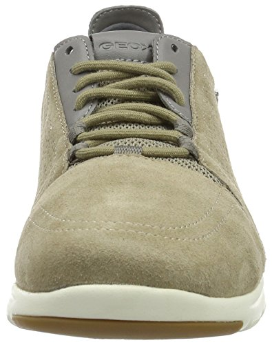 Geox U Xunday 2fit B, Baskets Basses Homme Beige (Sand/Greyc0841)