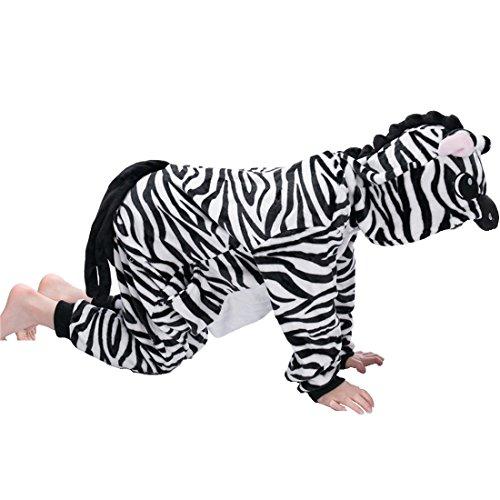 Pyjamas Unisex Kinder Kostüm Jumpsuit Tier Schlafanzug Cosplay Weihnachten Halloween Karneval Fasching-IFLIFE (95#-für Höhe: 105-115cm, (Cl Halloween Kostüm)