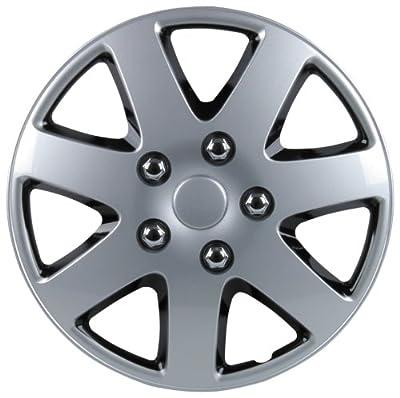 Unitec 7518 Premium- Radzierblenden 4er- Satz Melbourne, schwarz + silber - 4-er Set von Unitec auf Reifen Onlineshop