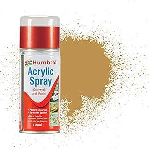 Humbrol - Pintura Spray Desert Yellow (Hornby AD6093)