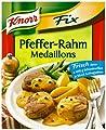 Knorr Fix für Pfeffer Rahm-Medaillions, 24er Pack (24 x 38 g Beutel) von Knorr - Gewürze Shop