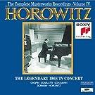 Horowitz: The Legendary Masterworks Recordings 1962-1973 Vol. IV