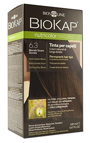 Bios Line 52988 Biokap Nutricolor Delicato 6.30, Biondo Scuro