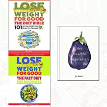 flexible vegetarian[hardcover], lose weight for good the diet bible and fast diet for beginners 3 books collection set - weight loss with intermittent fasting,101 lasting weight loss ideas for success