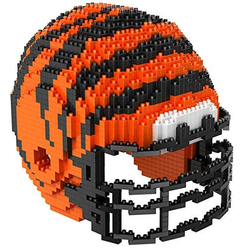 Cincinnati Bengals NFL Football Team 3D BRXLZ Helm Helmet Puzzle ...