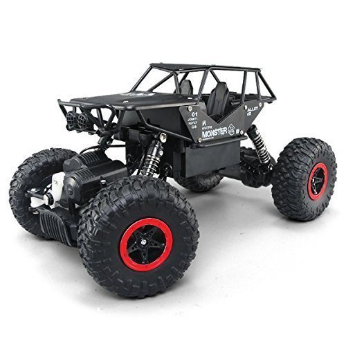 RC Cars, Rabing Off-Road-Rock-Fahrzeug-Raupen-LKW 2,4 GHz 4WD High Speed 1:14 Funkfernsteuerung Rennwagen Elektro Fast Race Buggy Hobby Auto (Auto Buggy)