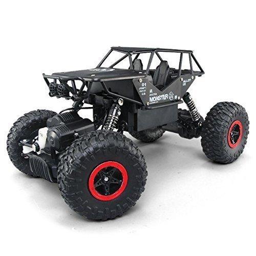 Voitures RC, Camion à chenilles pour véhicules tout terrain à la rocaille 2.4Ghz 4WD...