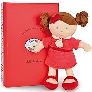 Doudou et Compagnie dc2774Les Demoiselles de doudou muñeca de Fresas (tamaño Mediano)