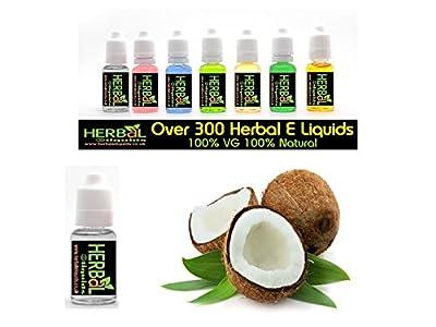 Coconut Herbal E Liquids 10ml 100% VG 0 mg Nikotin von Herbal E Liquids