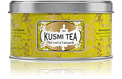 Kusmi Tea - Thé vert à l'amande - Boîte métal 125g