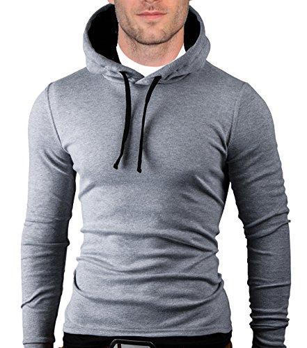 MT Styles Kapuzenpullover Longsleeve Hoodie Pullover