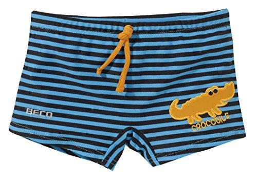Beco Jungen Badehose Krokodil-Aqua, Marine/Blau/Orange, 92