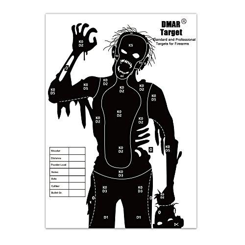 DMAR Zielscheiben Papier Silhouette Tactical Training Ziele Serie für Shooting Airsoft Outdoor Reichweite im Innenbereich 42 cm *30 cm 20Stück