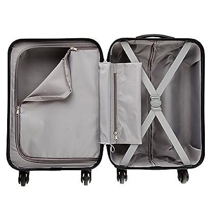 51cXvf2Yh1L. SS416  - Maleta de equipaje de mano de cabina con 4 ruedas para Cabina Max Toscana Super Ligera 2.4kg ABS funda dura, aprobado para Ryanair, Easyjet, British Airways y muchos más