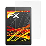 atFolix Schutzfolie kompatibel mit Google Nexus 9 Bildschirmschutzfolie, HD-Entspiegelung FX Folie (2X)