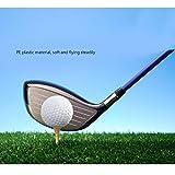TOYMYTOY Golf Balls Indoor Outdoor Practice Balls for Kids Children Golfer (White) - 8 Pieces