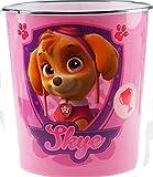 Skye rosa Paw Patrol la cameretta dei bambini, cestino per carta