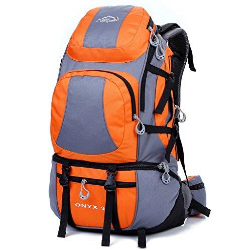 Die neuen Berg Taschen Outdoor-Reisen Sporttasche Rucksack Wanderrucksack Männer und Frauen Orange