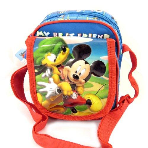 Mickey [L0310] - Sac bandoulière enfant 'Mickey' bleu tutti frutti