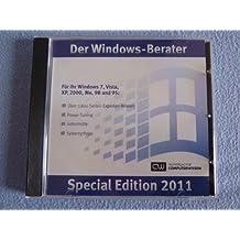 Windows-Berater, Special Edition 2011, CD-ROMFür Ihr Windows 7, Vista, XP, 2000, ME, 98 und 95
