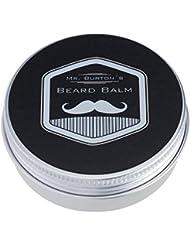 Mr. Burton´s Beard Balm classic | 60g | für die perfekte Bartpflege | unser Bartbalsam vereinigt Styling + Pflege für einen geschmeidigen, weichen Bart | mit Arganöl