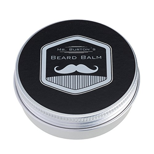 Mr. Burton´s Beard Balm classic 60g Made in Germany unser Bartbalsam vereinigt Styling + Pflege für einen geschmeidigen, weichen Bart mit Arganöl