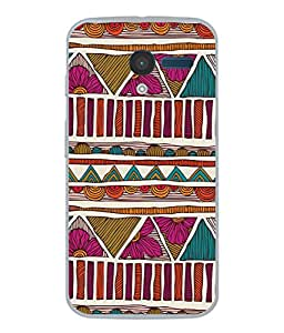 PrintVisa Designer Back Case Cover for Motorola Moto X :: Motorola Moto X (1st Gen) XT1052 XT1058 XT1053 XT1056 XT1060 XT1055 (Jaipur Rajasthan Tribal Azitec Mobiles Indian Traditional Wooden)