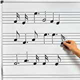 Chamberlain Musique wmn40Musique Symbole magnétique pour tableau blanc