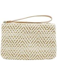 Bolsos De Embrague De Las Mujeres Femeninas Summer Beach Straw Bag Lady Travel Mini Messenger Bags