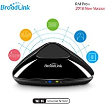 Broadlink RM Pro+ WiFi Smart Home all in one automazione apprendimento telecomando universale compatibile per dispositivi iOS/Android (nero, UK standard)