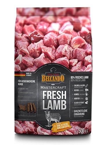 Belcando Mastercraft Fresh Lamb [500g] Trockenfutter für Hunde | 80% Frischfleisch | Hundefutter getreidefrei | sortenrein | für alle Rassen