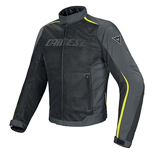 Dainese-HYDRA FLUX D-DRY Giacca da moto, Nero/Rosso/Bianco, Taglia 50
