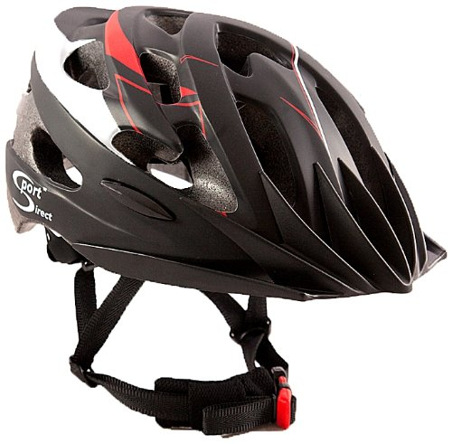 Price comparison product image Sport Direct Mens Bicycle Helmet Red / Black 58-61cm