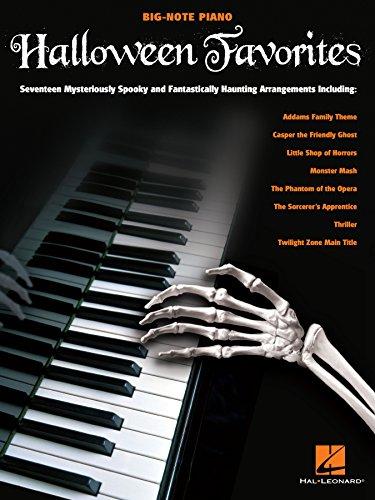 Halloween Favorites Songbook (Big-note Piano) (English Edition)