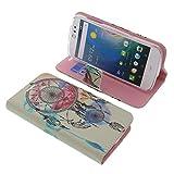 Tasche für Acer Liquid Z530 Book Style Traumfänger Schutz