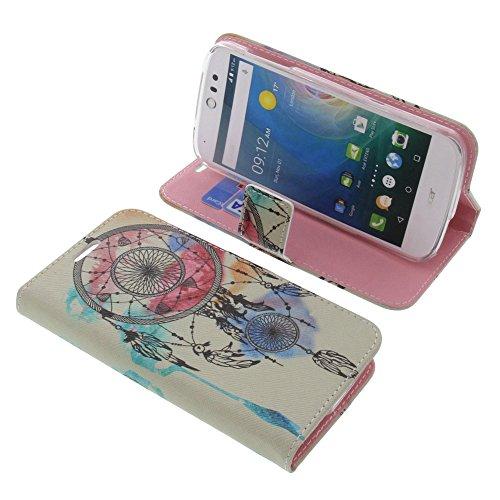foto-kontor Tasche für Acer Liquid Z530 Liquid M530 Book Style Traumfänger Schutz Hülle Buch
