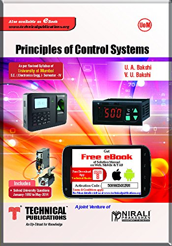 PRINCIPLES OF CONTROL SYSTEMS for UoM (IV-Electronics-2012 course)