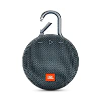 JBL Clip 3 Portable Bluetooth Speaker, Blue - JBLCLIP3BLU