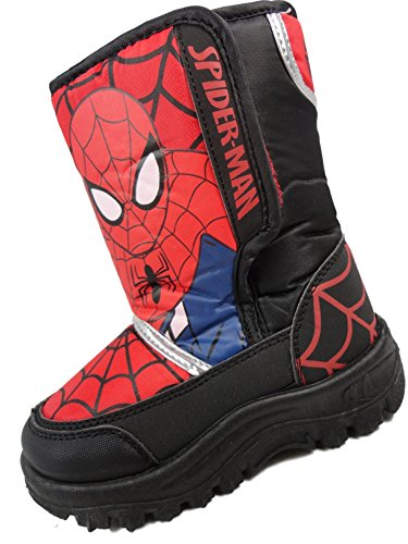 Spiderman Botas de Material Sintetico Para Nino  , Rojo, 13 UK / 32 EU Youth