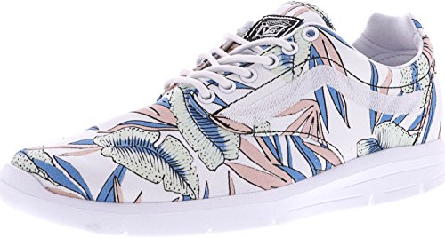 Vans Iso 1.5 (tropical Leaves) True White/true White (tropical Leaves) True White/true White