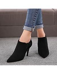 AIURBAG Da donna Scarpe Finta pelle Inverno Stivali Stivaletti alla caviglia Stivaletti Appuntite…