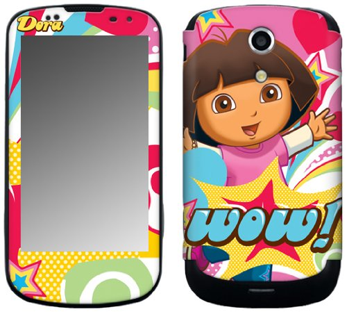 MusicSkins MS-DORA30215 Schutzfolie für Samsung Epic 4G Galaxy S (SPH-D700), Dora The Explorer - Pop Denim