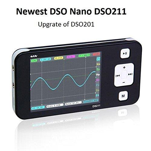 dso 203 SainSmart DSO211 DS211 Aufrüstungs-bewegliches MiniNano ARM DSO Taschen-großes handliches Digital Speiche Oszilloskop